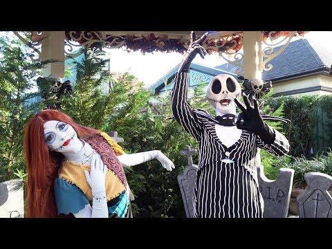 Jack Skellington & Sally Meet & Greet at Mickey's Not So Scary Halloween Party 2018, Magic Kingdom
