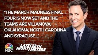 Seth's Favorite Jokes of the Week: March Madness, Trump Plays Defense