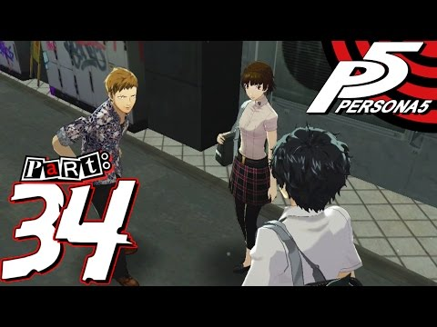 Persona 5 - Part 34 - Pizza Smuggler