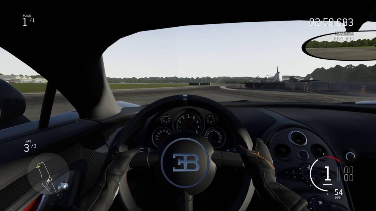 forza motorsport 6 apex beta pc bugatti veyron top gear test track youtube. Black Bedroom Furniture Sets. Home Design Ideas