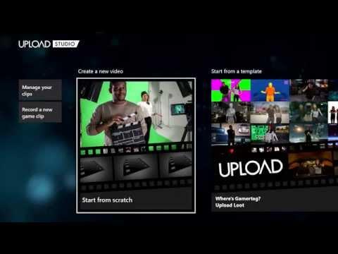 Крупное обновление приложения Upload Studio для Xbox One, список изменений