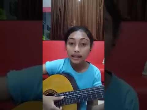 Rantau cover by Novia Bachmid. novi idola cilik. lagu bahasa mongondow