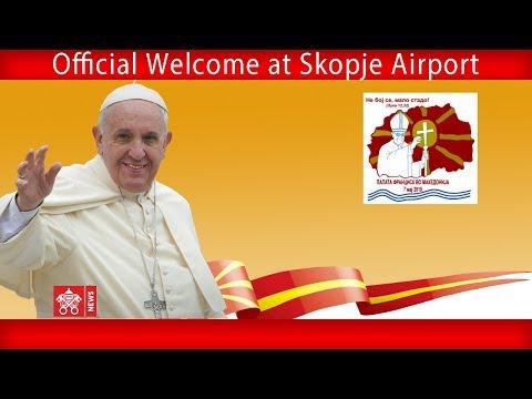 Skopje – Welcome Ceremony