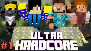 Minecraft Ultra Hardcore - Team Camerica! #1