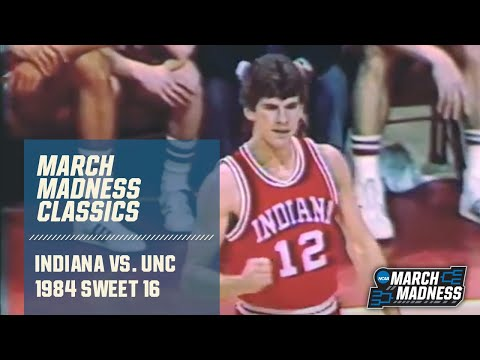 Indiana vs. UNC (1984 Sweet 16): Michael Jordan's final college game