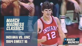 Indiana vs. UNC (1984 Sweet 16): Michael Jordan's final college game