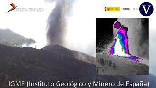 El Contraste Térmico En La Erupción De La Palma, A Vista De Dron