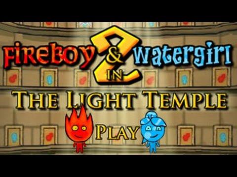 FIREBOY  WATERGIRL EP  2 Walkthrough
