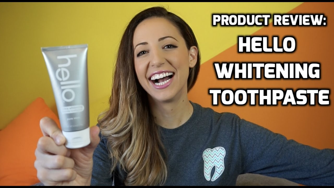 Product Review Hello Whitening Toothpaste Youtube