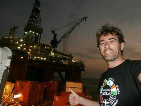 "Plataforma ""CELTIC SEA"". Angola Offshore. ESSO,MAERSK, BOURBON. Supply services."