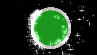 Green Screen Round frame effect
