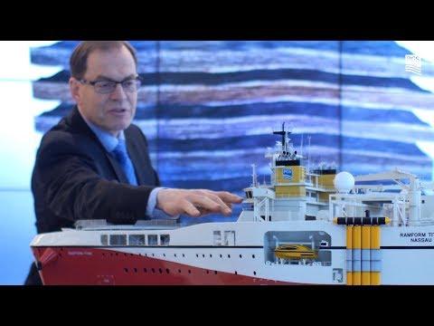 Ramform Titan Class vessels and GeoStreamer
