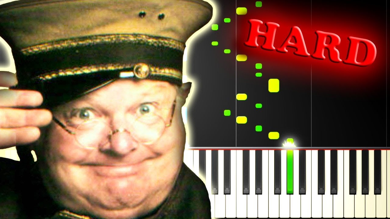 Benny Hill Yakety Sax Piano Tutorial