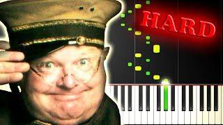 Скачать BENNY HILL YAKETY SAX Piano Tutorial
