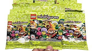 LEGO Minifigures Series 19 - 20 pack opening!