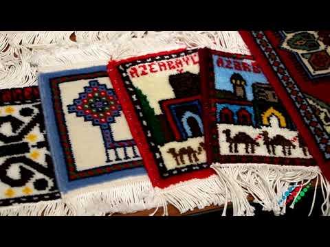 Азербайджанский музей ковров на выставке в Москве
