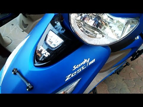 TVS Scooty Zest 110CC Automatic Scooter Complete Review including engine, price, mileage, specs