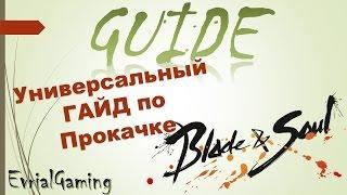 Blade and Soul Универсальный Гайд по Прокачке #1 (быстрая прокачка, основы морфа оружия)