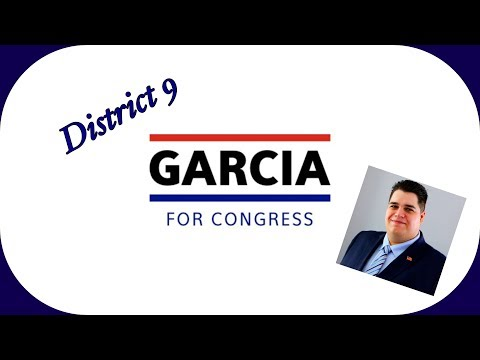 Joshua Garcia For Congress! Campaign Announcement!