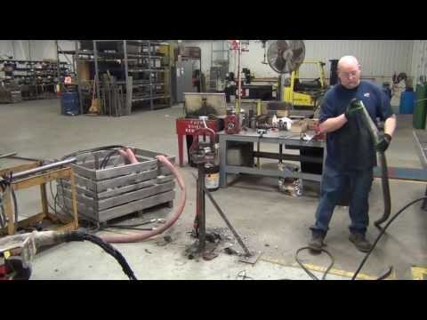 Hydraulic Concrete Paving Vibrator Repair ( Part 1)