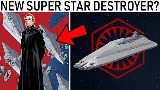 A New First Order SUPER STAR DESTROYER?... (or did Star Wars steal more fan art?)