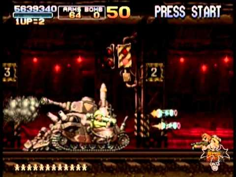 Metal Slug X Mission 5 (Score Gameplay)