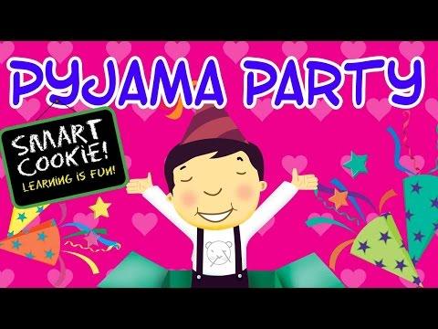 Smart Cookie - Pyjama Party - Kids Enjoying Pyjama Party