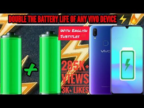 Repeat Vivo mobile phone battery temperature too low