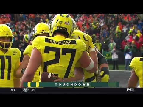Oregon Ducks vs. Oregon State Beavers- Ducks Highlights 11/23/18