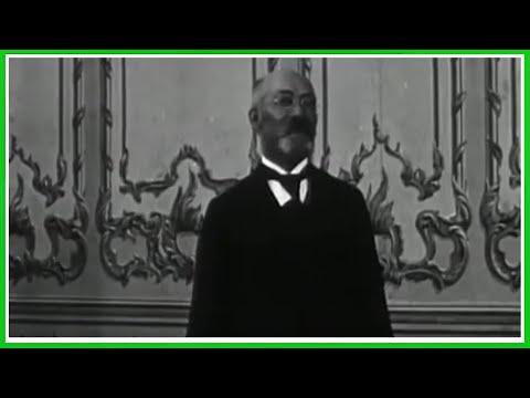 L. L. Zamenhof Speaking Esperanto - Unika Video De Zamenhof