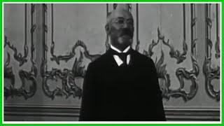 L. L. Zamenhof Speaking Esperanto – Unika video de Zamenhof
