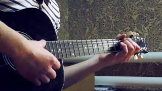 РУКИ ВВЕРХ (Сергей Жуков) - Когда мы были молодыми (cover на гитаре)