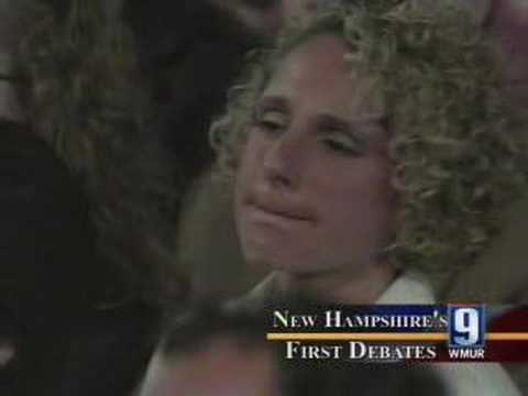 Sparks Fly In New Hampshire Debate