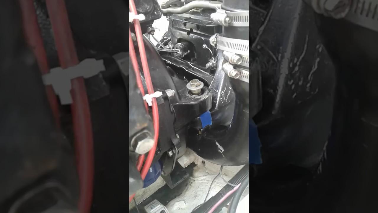 Installing Mercruiser Rear Engine Mount Bushings Part Two