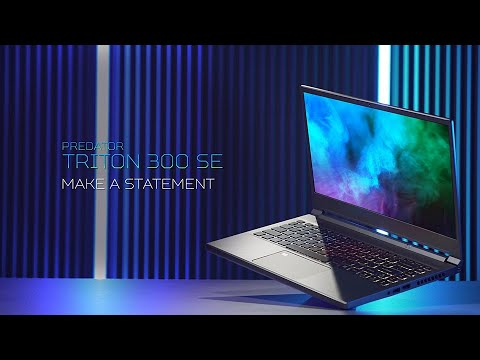 Triton 300 SE Gaming Laptop – Make a Statement | Predator