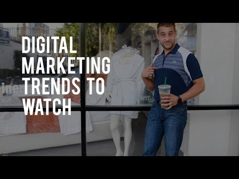 DR Weekly Vlog | Digital Marketing in Jupiter | Three Marketing Trends to Watch