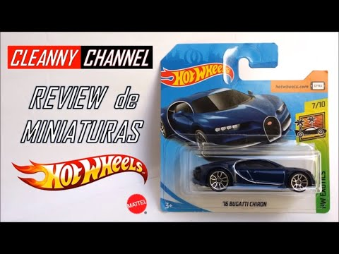 Hot Wheels, Bugatti Chiron e Pagani Huayra, Review de Miniaturas 1/64