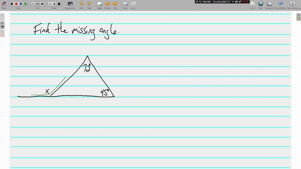Remote Interior Angles Theorem