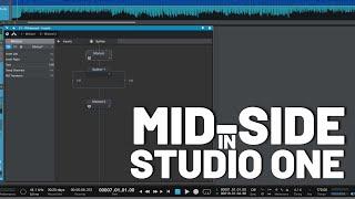 Mid-Side Processing in #StudioOne