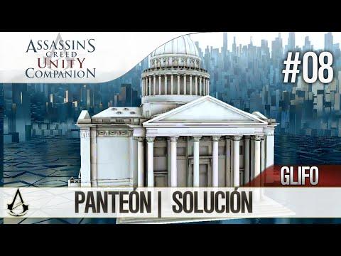 Assassin's Creed Unity Companion APP | Guía Localización Glifos | Panteón | Solución
