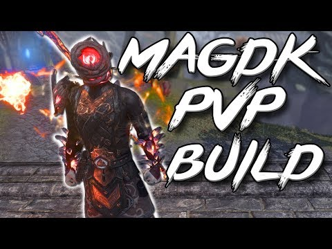EXTREME FLAME DRAGONKNIGHT - PvP Magicka DragonKnight Build (Elder Scrolls Online MagDK Build)