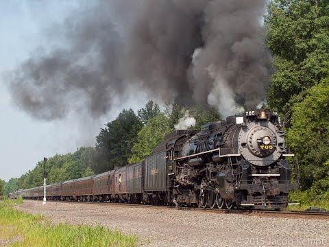 Norfolk Southern 21st Century Steam Program - Summer 2015