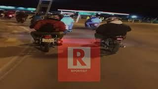 Jóvenes en moto se movilizaron ,en homenaje a los dos fallecidos,uno en Castillos y el otro en Rocha