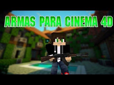LIBRERIAS MINECRAFT PARA CINEMA 4D - YouTube