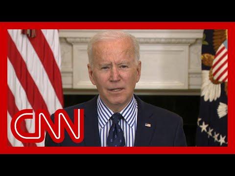 'Help is on the way': Biden speaks after Senate passes relief plan