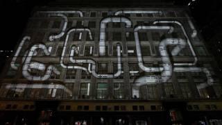 Christmas Light Show, Saks 2011