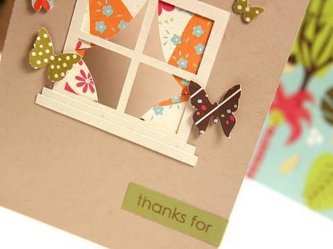 Window Card - Make a Card Monday #110 - YouTube
