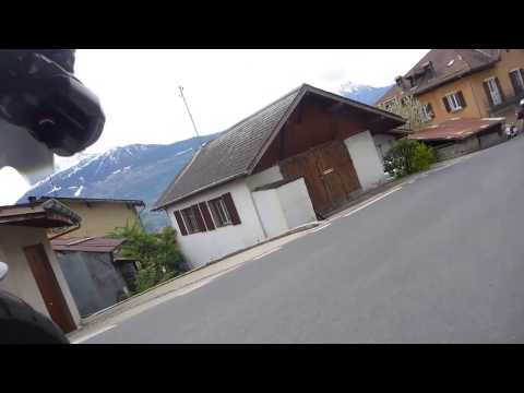 Route de Derborence Valais, Suisse