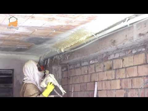 CEBAG - Spruzzo controsoffitto poliuretano 30