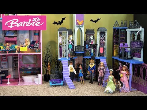 Barbie and Ken Halloween Story: Chelsea, Barbie Dream House, Halloween Costumes, Dance Party
